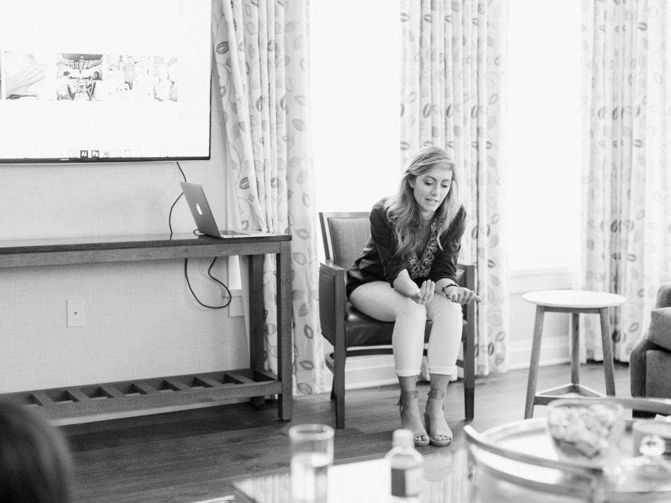 Creative copywriter and calligrapher Ashlyn Carter of Ashlyn Writes