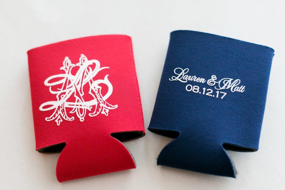 Ole Miss wedding details wedding monogram by Ashlyn Carter of Ashlyn Writes
