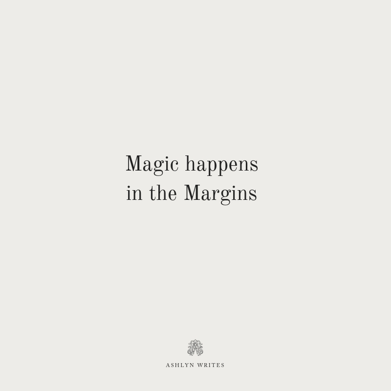 Magic in the Margins-Quote Cards