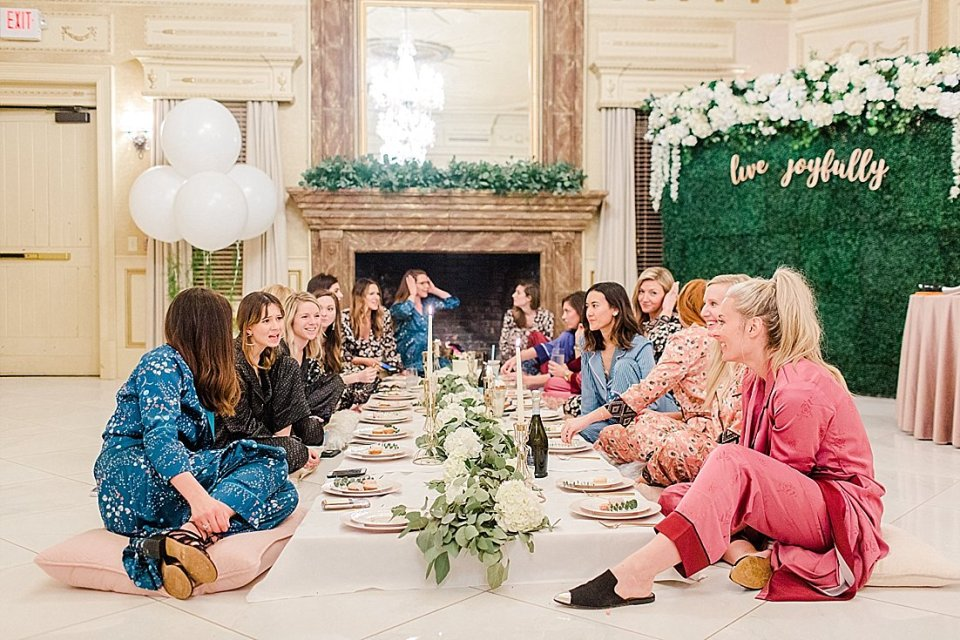 The Joyful Influencer retreat at the kentucky castle Instagram influencer event