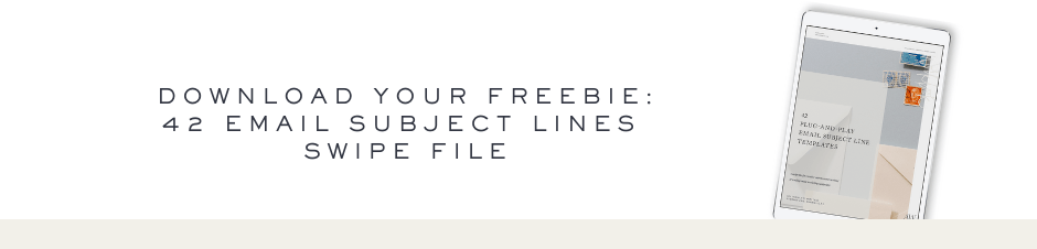 42 Email Subject Lines Swipe File Download