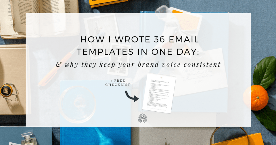 How to Use Canned Email Templates from Ashlyn Writes