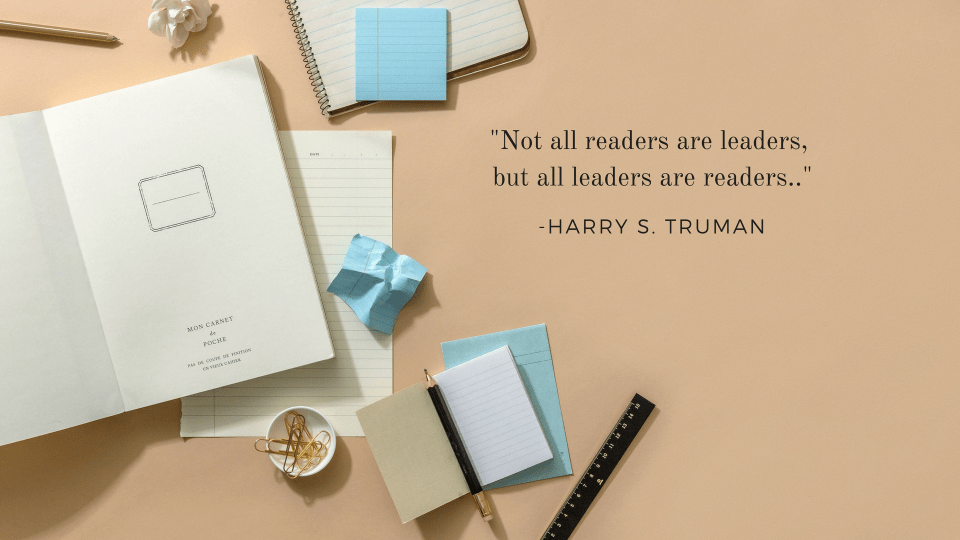 not all readers are leaders, but all leaders are readers quote card Ashlyn Writes