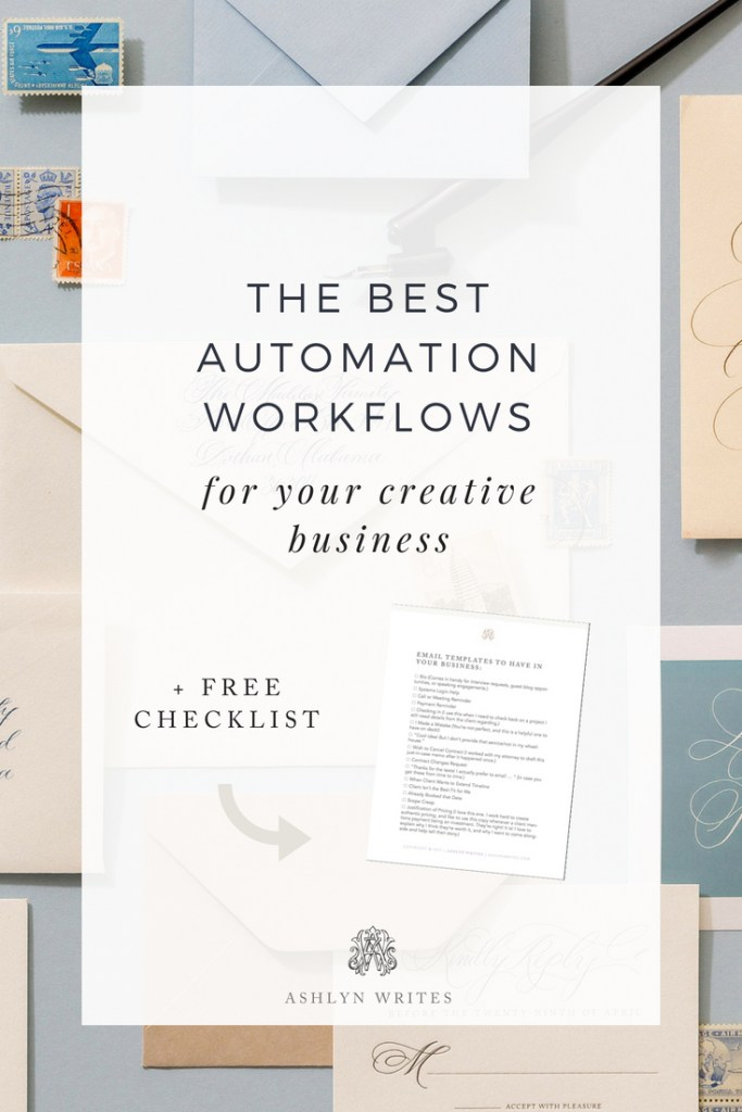 Automation Workflows from Ashlyn Writes