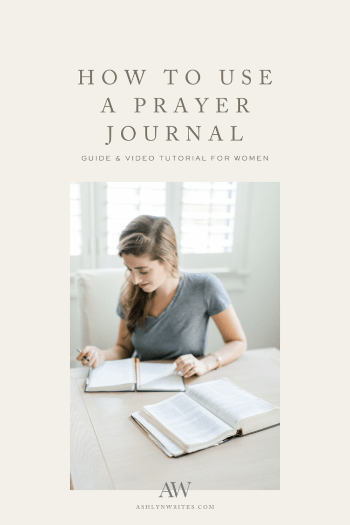 Val Marie Paper prayer journal review and tutorial from Ashlyn Writes