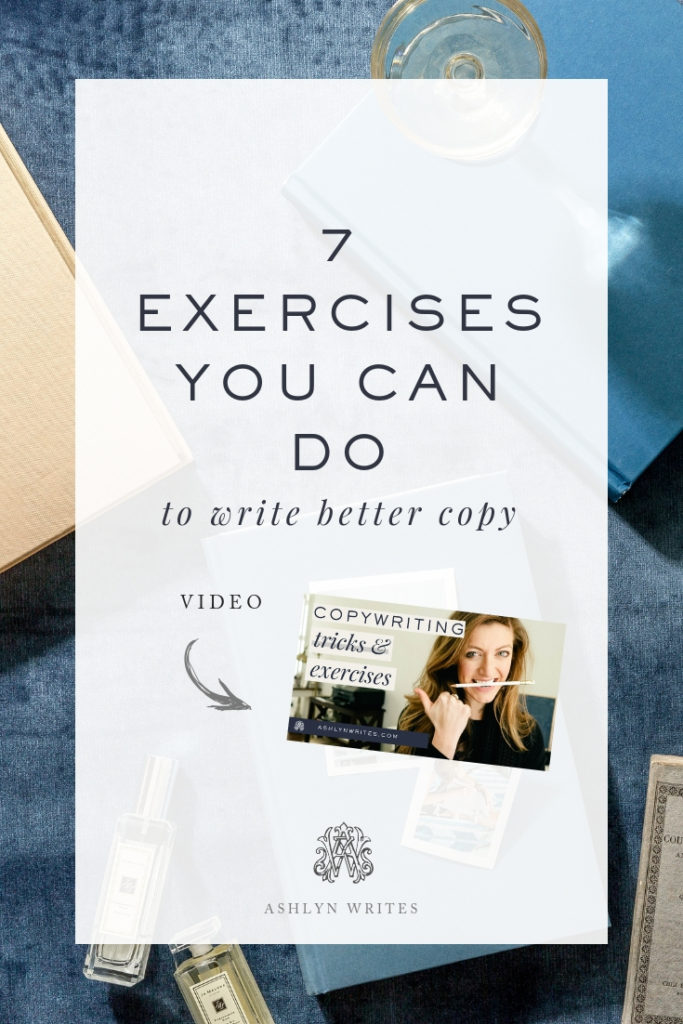 Copywriting Exercises from Ashlyn Writes
