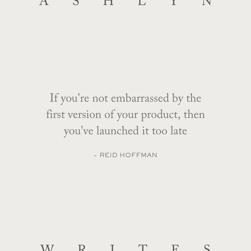 Reid-hoffman-quote-launch-a-website-launch-copywriter