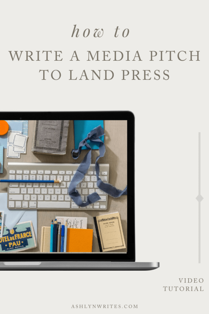 How to Write a Pitch Email for Your Creative Business | Ashlyn Writes
