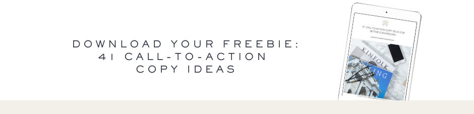 41 call-to-action copy ideas - Ashlyn Writes