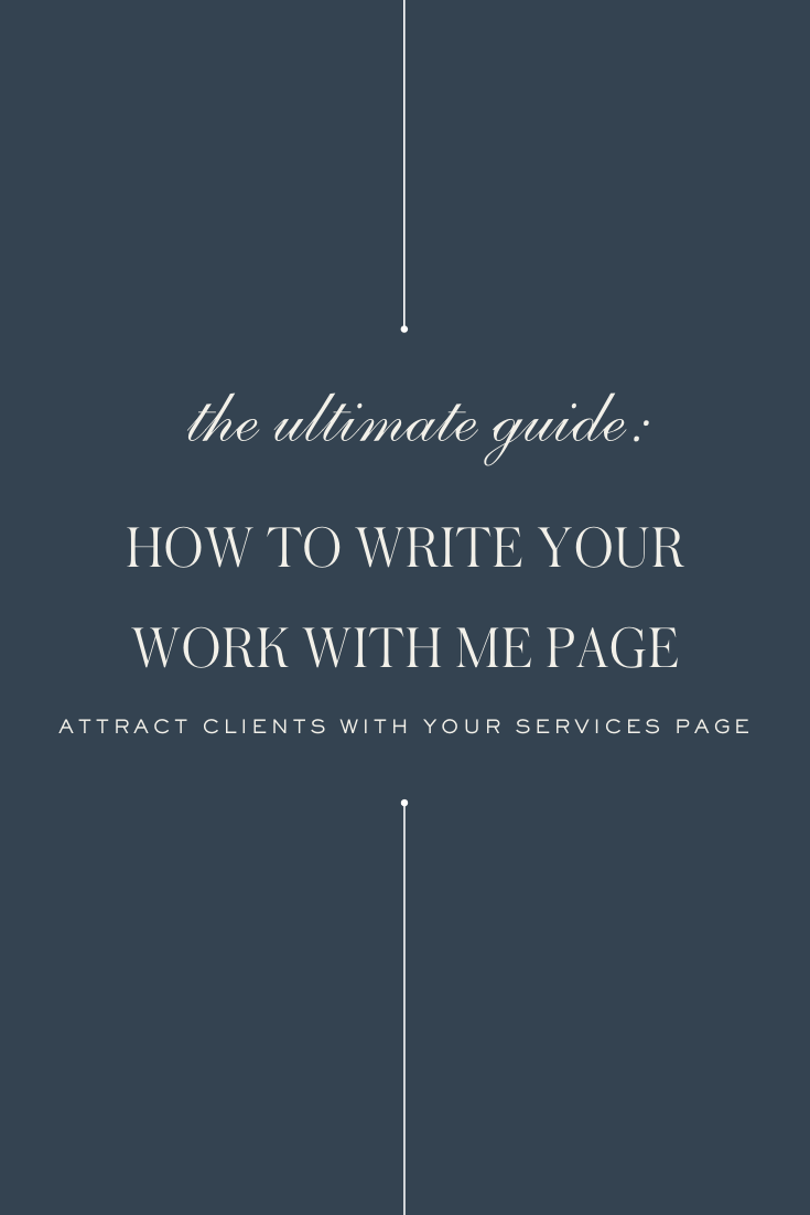 How to Write Your Work With Me Page - Ashlyn Writes Blog