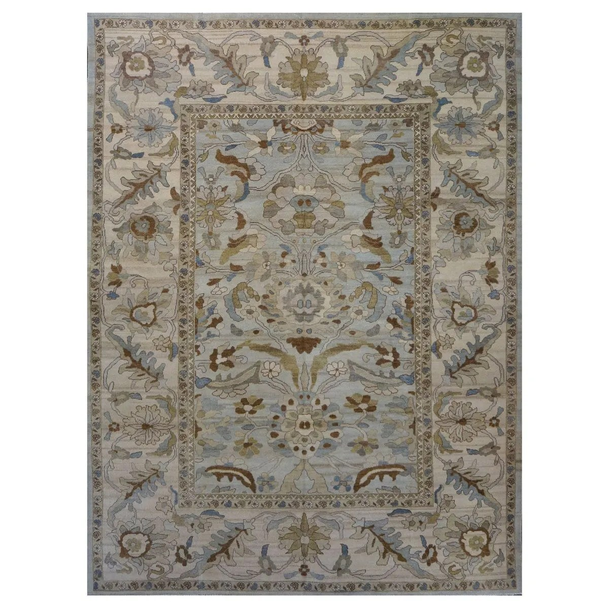 Area Rugs Traditional Sultanabad Wool 9902773 9 X 12 Beige