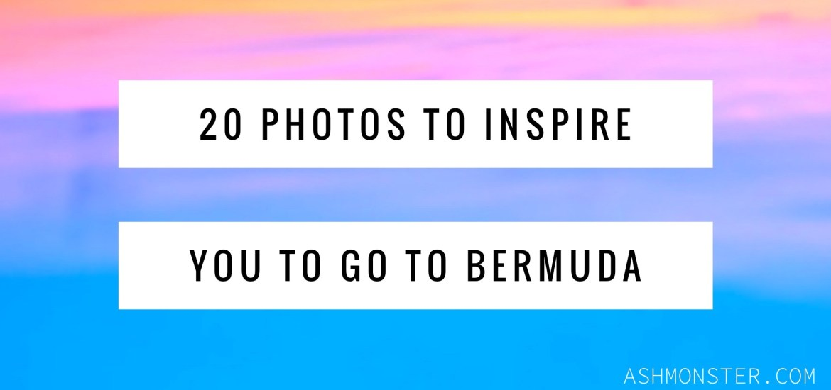 20 photos to inspire you to visit Bermuda from ashmonster.com