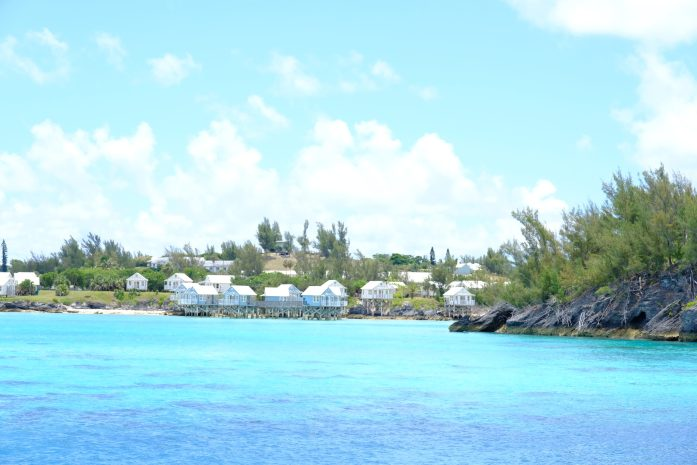 20 photos to inspire you to visit Bermuda, picture of the over the water bungalows that are eco friendly