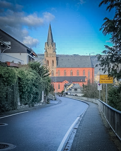 trip around Southern Germany Church in Oberwessel Germany