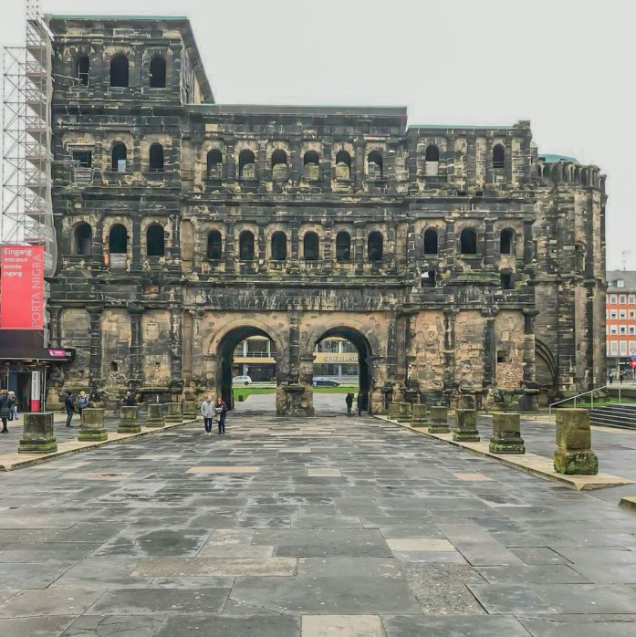 oldest gate in all of Germany located in Trier