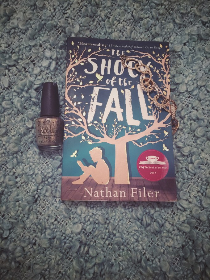 The Shock of the Fall by Nathan Filer. Winner of the Costa Book of the Year Award