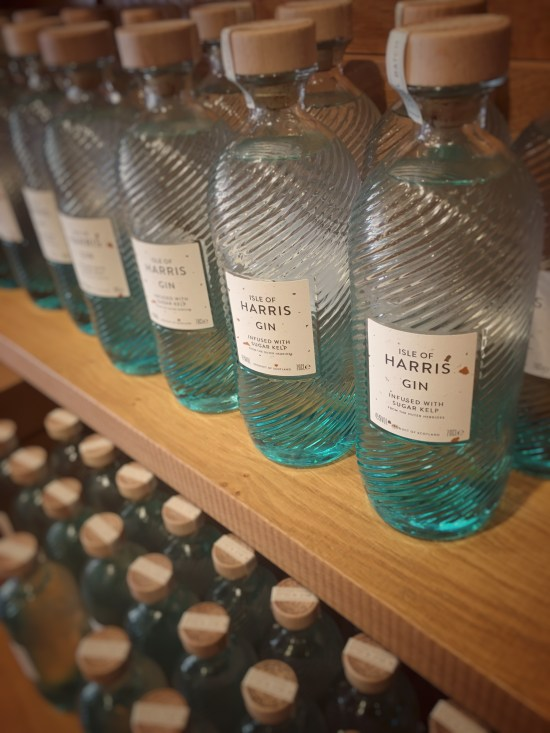 Shelf of Isle of Harris Gin