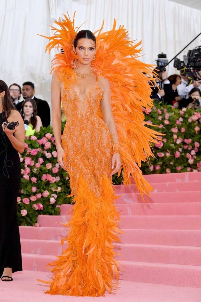 Kendall Jenner in Versace - MET Ball 2019