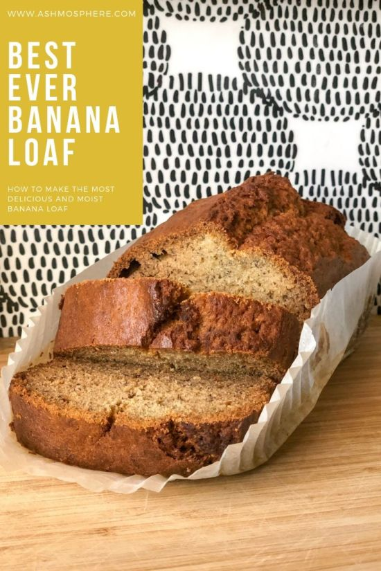 Most Simply Delicious and Moist Banana Loaf