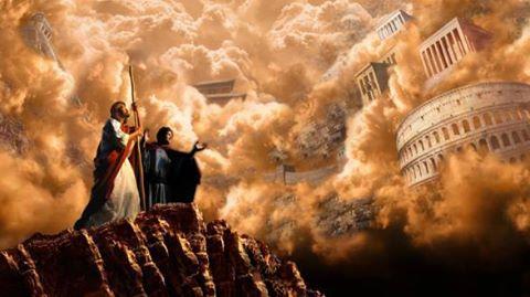ادعای مخالفان: کتاب مقدس می گوید که از بالای کوه می توان تمام کشورهای جهان را مشاهده کرد!