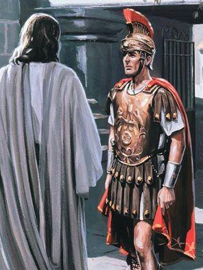آیا افسر رومی خودش نزد مسیح آمد یا بزرگان یهود با عیسی ملاقات کردند؟
