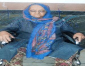 مادر نوکیش مسیحی زندانی ابراهیم فیروزی این مادر از بیماری سرطان رنج میبرد