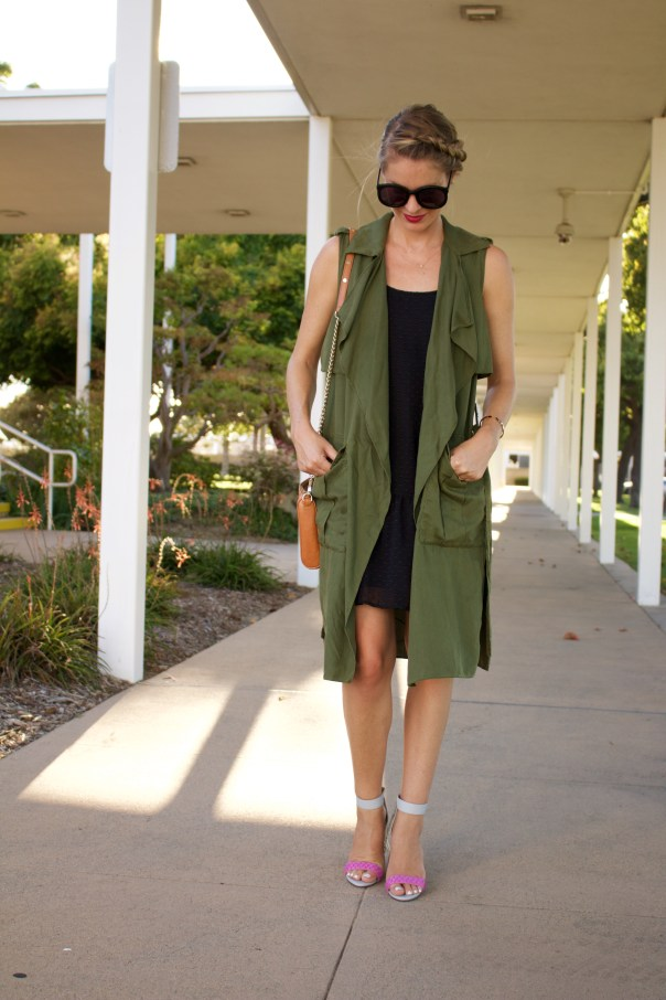 layered fall dress