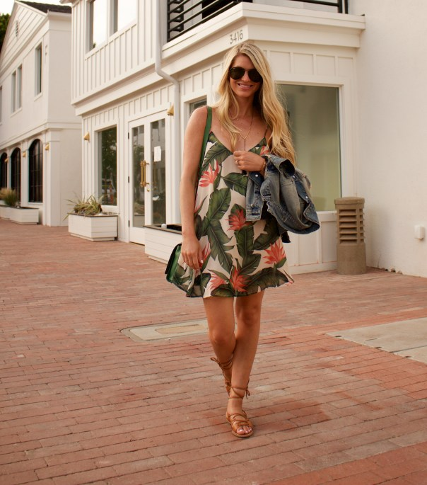 show me your mumu leaf print dress