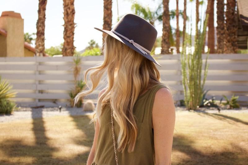 fall felt hat
