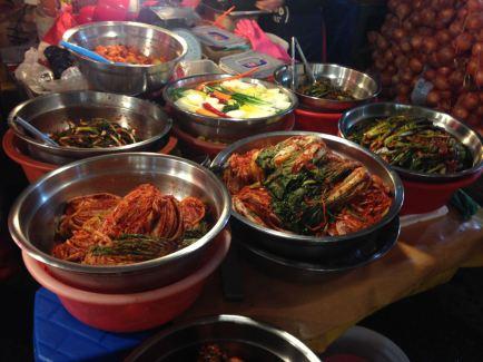 Kimchi choices
