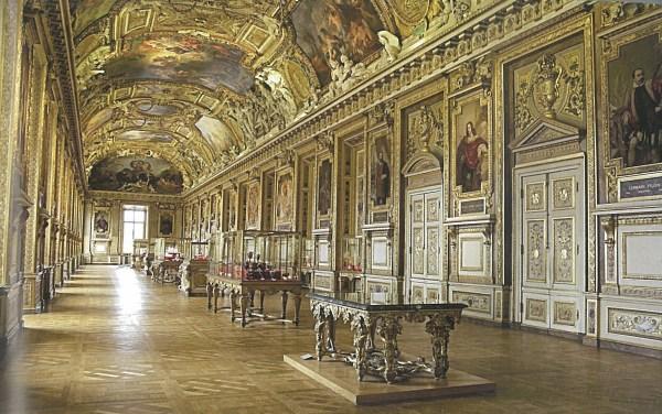 Apollo Gallery Louvre Museum