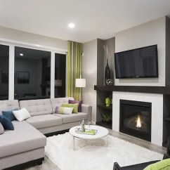 Living Room Show Homes Contemporary Curtain Interior Design The Saffron A S Manitoba