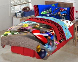 Boys Room Ideas - Super Mario The Race is On Bedding