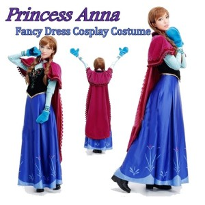 Adult Frozen Costumes - Princess Anna Costume