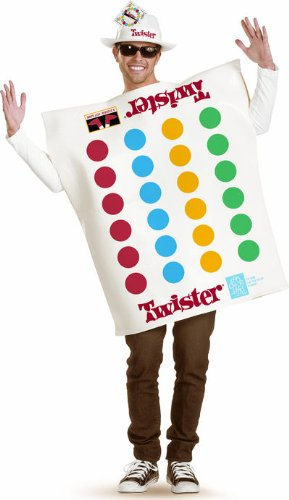 Board Game Halloween Costumes - Unisex Twister Costume