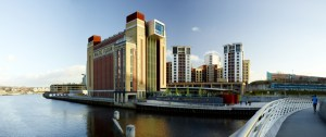 DANIEL BUREN: CATCH AS CATCH CAN - Works in situ │ Baltic Centre for Contemporary Art, Gateshead  → 12 October 2014