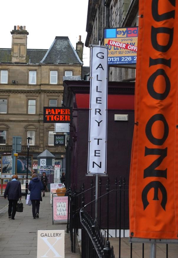 Gallery X, Edinburgh