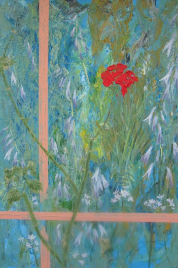 GERANIUM │ 2003 │ Acrylics on canvas │ 76 x 50 cm