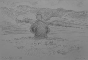 MIKE, ASKHAM FELL │ June 2014 │ Pencil on A4 paper