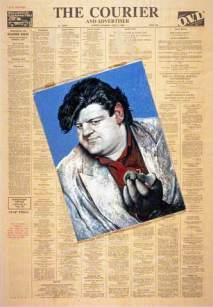 ROBI COLTRÊN (b. 1950), actr, az Dani MGlôn │ 1988 │ Ŷl on bwd on pêpr │ Sîz: 30 x 21.2 sm. │ Našnl Gaḷriz v Scotḷnd │ Brijmn Imijz