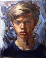 Nicky - oil on canvas