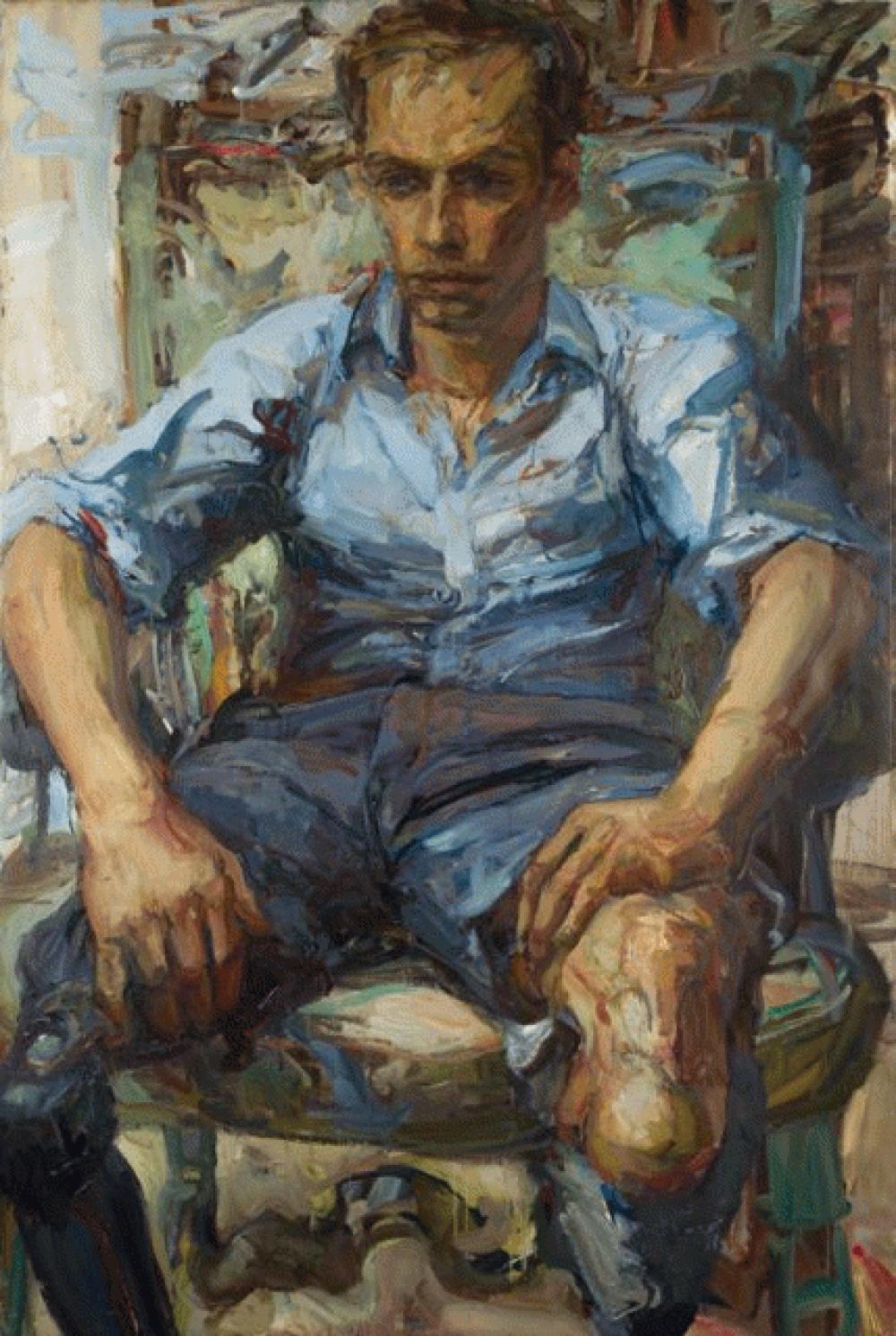 Harry. Oil on canvas.