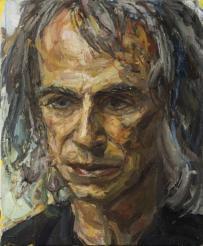Ivor Braka - The Art Dealer. Oil on canvas.