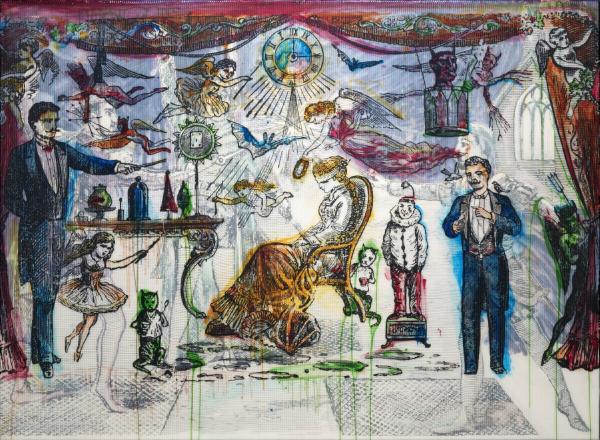 The Illusionist, 2007. All photographs: The Estate of Sigmar Polke/DACS/VG Bild-Kunst