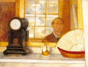 Roger de Grey. Self-Portrait , c.1960-3, oil on canvas, 71 x 92cm