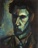 Leslie Marr. Self-Portrait , 1946, oil on canvas, 40.5 x 30.5 cm 16 x 12 1/8 in