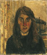 Jean Cooke, Self-Portrait, c.1954, oil on canvas