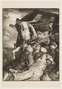 BRANGWYN, Sir Frank William. The Gun (1917)