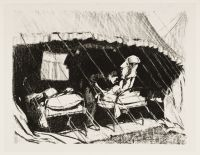 SHEPPERSON, Claude Allin. Casualty Clearing Station in France (1917)