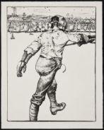 KENNINGTON, Eric Henri. Bayonet Practice (1917)